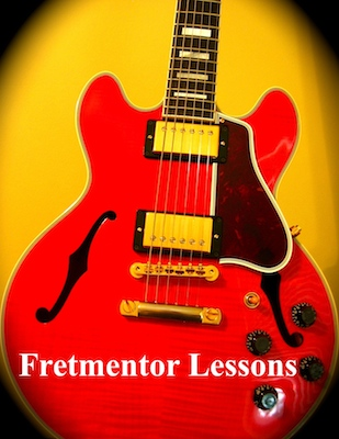 Fretmentor offers music lessons for banjo, mandolin, guitar and music theory